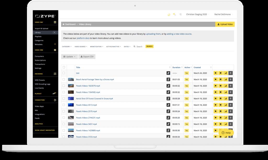 Zype Video Platform for Education