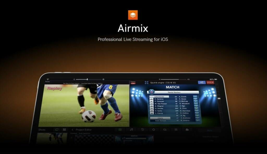 airmix live streaming app