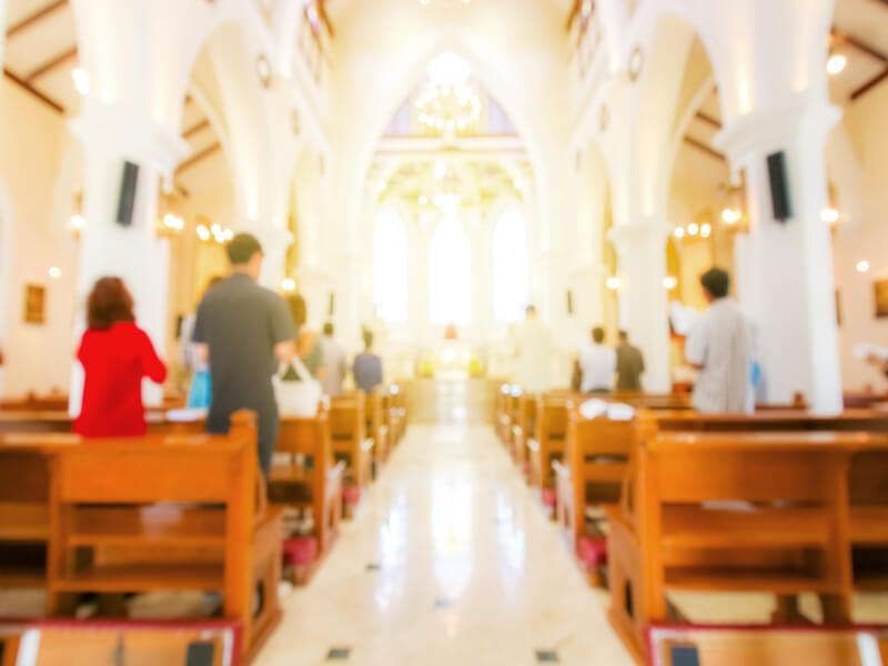 church streaming services