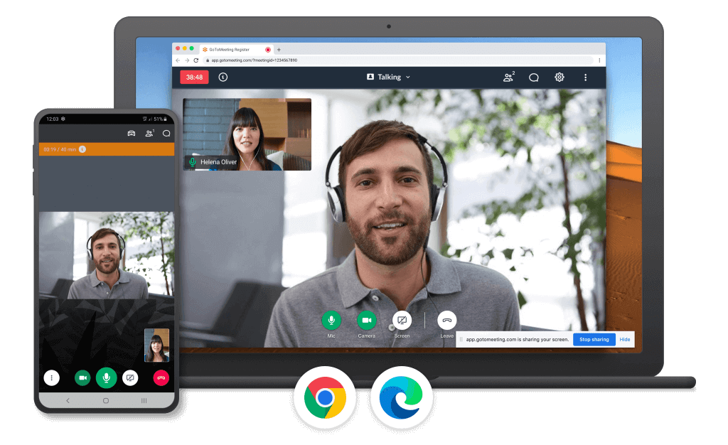 GoTomeeting free video conferencing