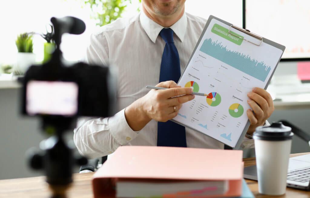 live video statistics for marketing