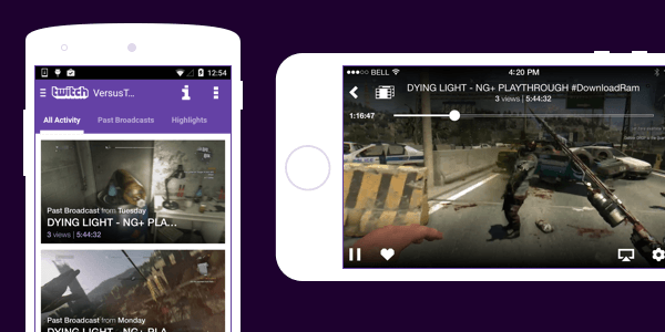 twitch live streaming app