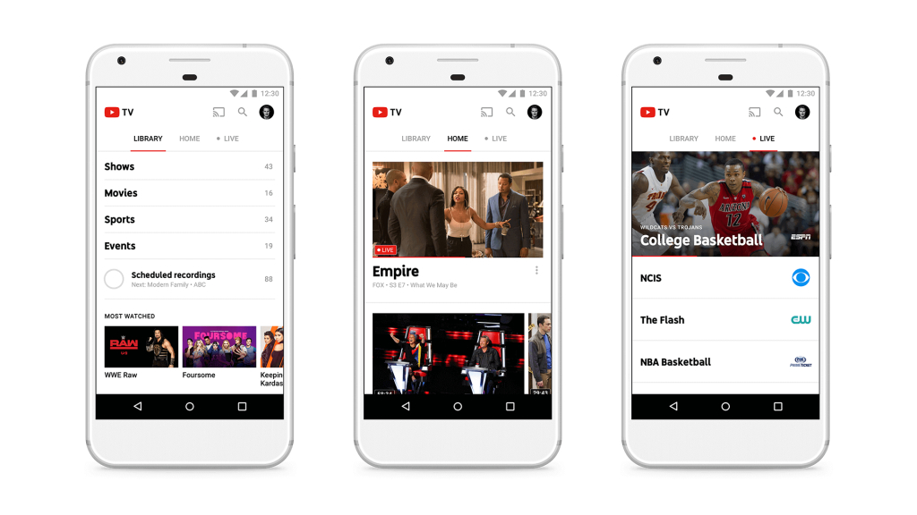 youtube live streaming app