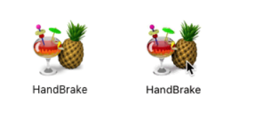 HandBrake application icon