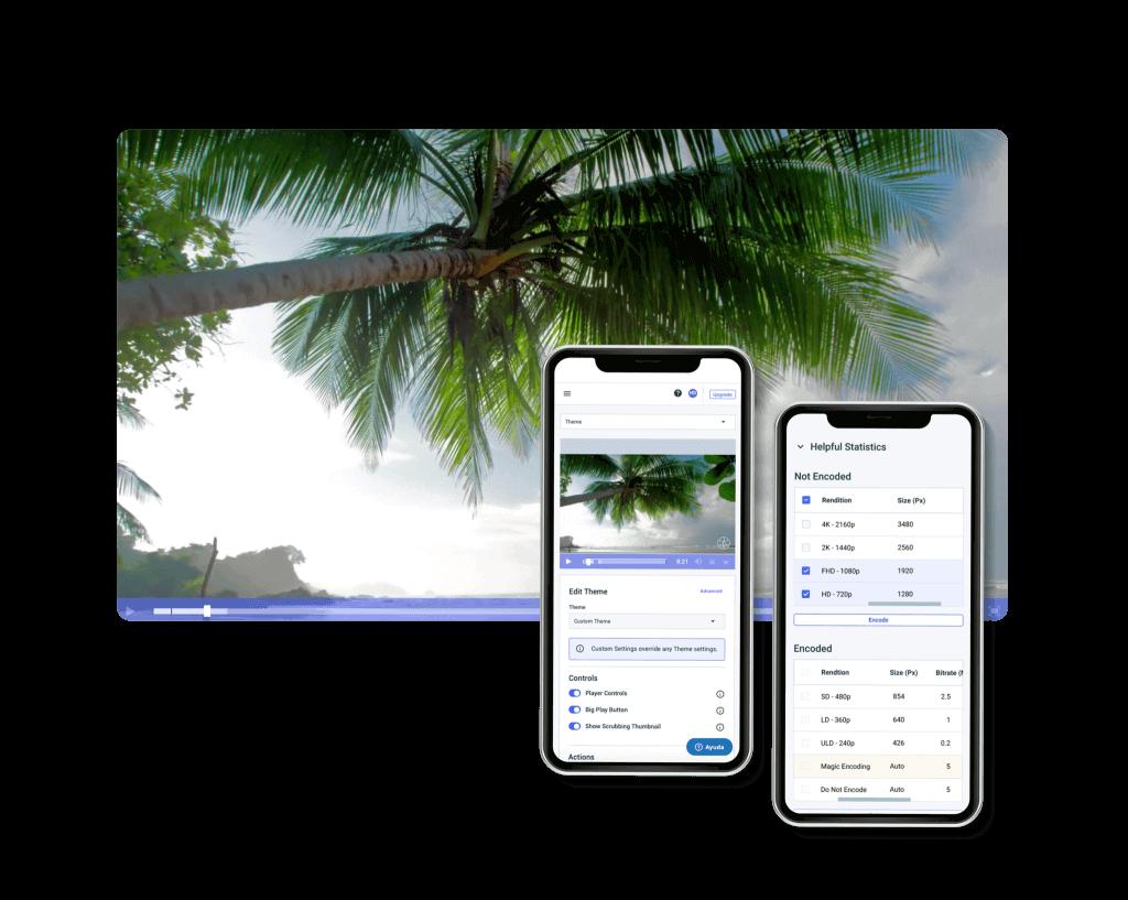 video hosting for mobile apps