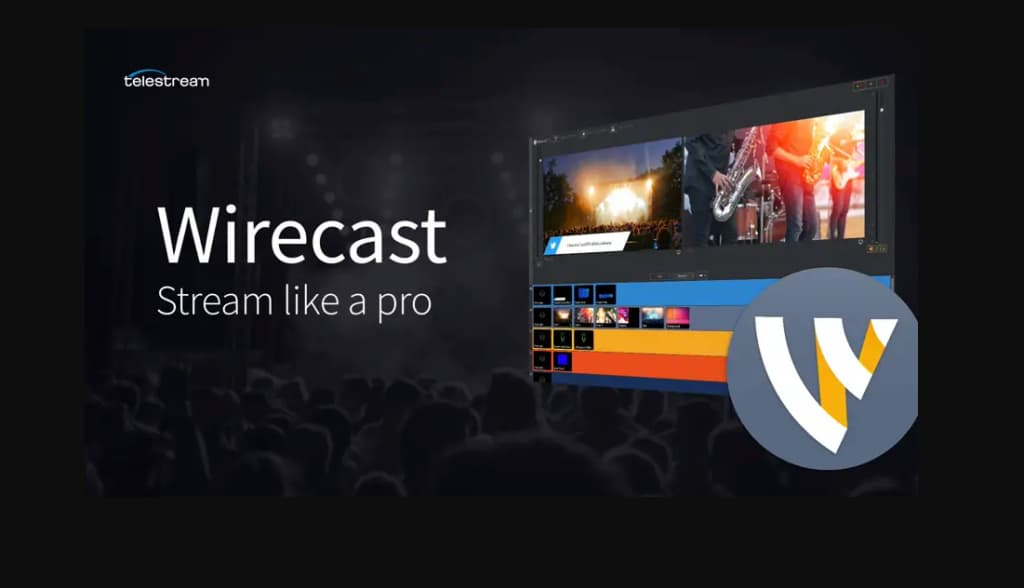 wirecast pro streaming software