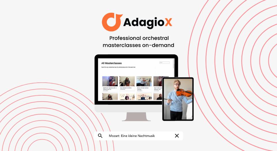 AdagioX Dacast - professional masterclasses